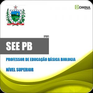 Apostila SEE PB 2019 Professor de Educação Básica Biologia