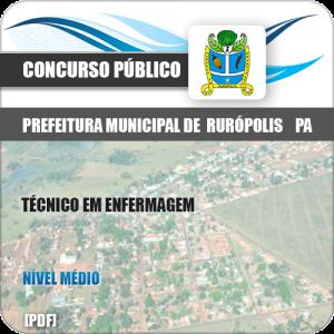 Apostila Pref Rurópolis PA 2019 Técnico em Enfermagem