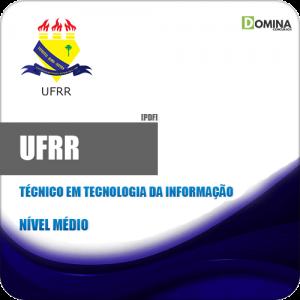 Apostila UFRR 2019 Técnico em Tecnologia da Informação