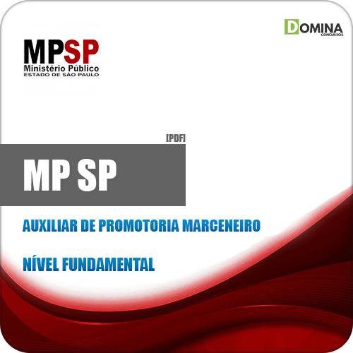 Apostila MP SP 2019 Auxiliar de Promotoria Marceneiro