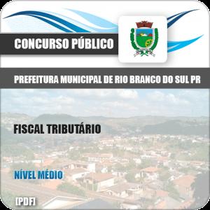 Apostila Pref Rio Branco Sul PR 2019 Fiscal Tributário