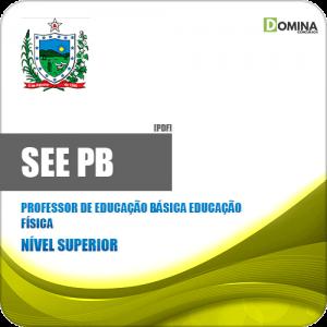 Apostila SEE PB 2019 Professor Educação Básica ED Física