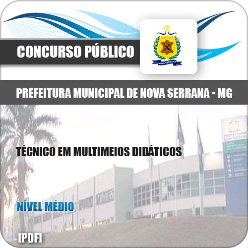Apostila Nova Serrana MG 2019 Tec Multimeios Didáticos