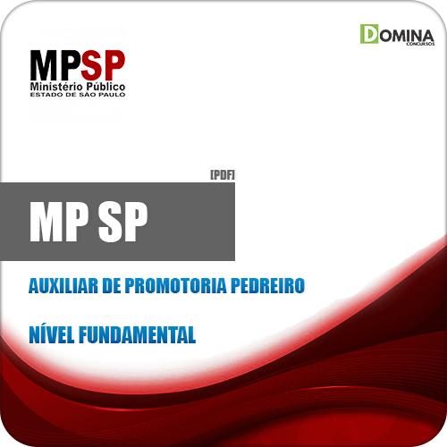 Apostila MP SP 2019 Auxiliar de Promotoria Pedreiro