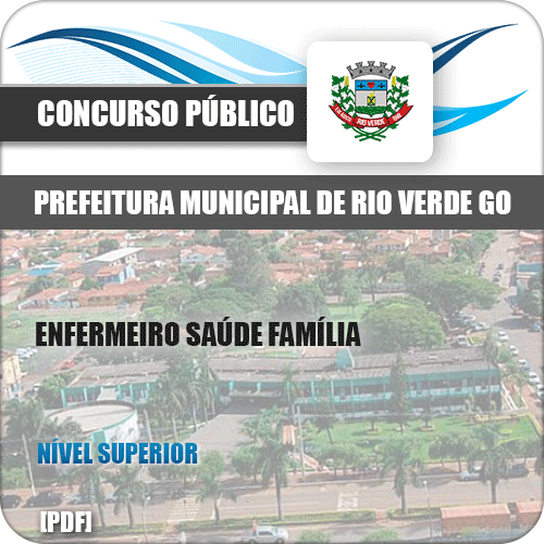Apostila Pref Rio Verde GO 2019 Enfermeiro Saúde Família