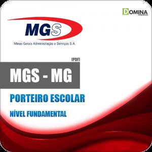 Apostila Concurso MGS MG 2019 Porteiro Escolar