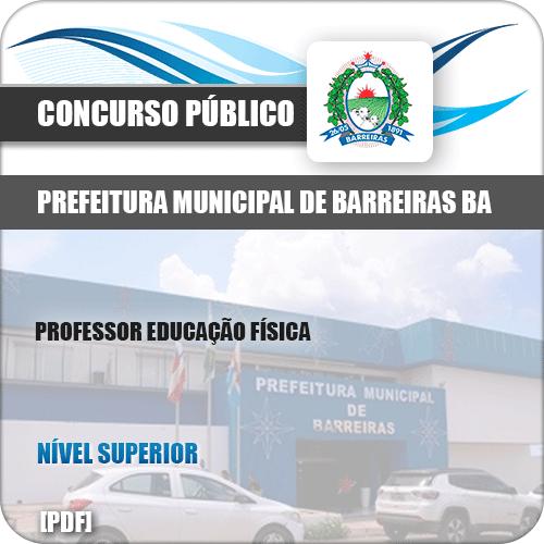 Apostila Pref Barreiras BA 2019 Professor Educação Física
