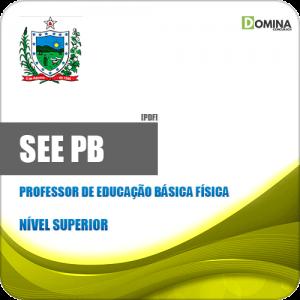 Apostila SEE PB 2019 Professor de Educação Básica Física