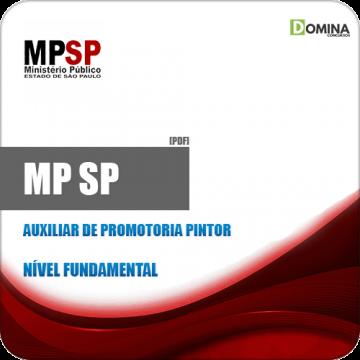 Apostila MP SP 2019 Auxiliar de Promotoria Pintor