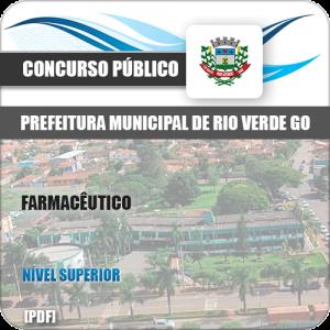 Apostila Pref Rio Verde GO 2019 Farmacêutico