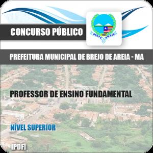 Apostila Pref Brejo de Areia MA 2019 Prof Ensino Fund