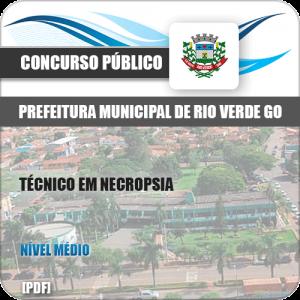 Apostila Pref Rio Verde GO 2019 Técnico em Necropsia