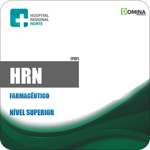 Apostila Concurso HRN 2019 Farmacêutico