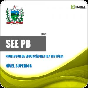 Apostila SEE PB 2019 Professor Educação Básica História