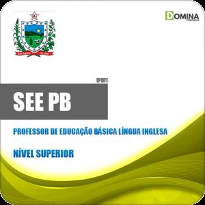 Apostila SEE PB 2019 Professor Ed Básica Língua Inglesa