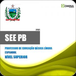 Apostila SEE PB 2019 Professor Ed Básica Língua Espanhol