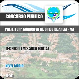 Apostila Pref Brejo de Areia MA 2019 Técnico em Saúde Bucal