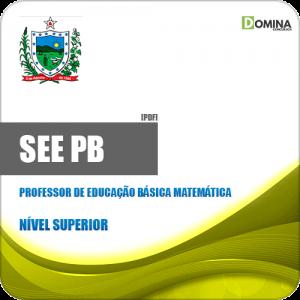 Apostila SEE PB 2019 Professor de Educação Básica Matemática