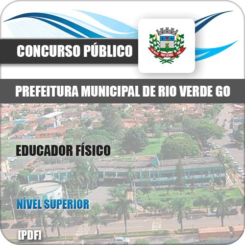 Apostila Pref Rio Verde GO 2019 Educador Físico