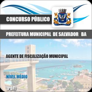 Apostila Pref Salvador BA 2019 Agente de Fiscalização Municipal