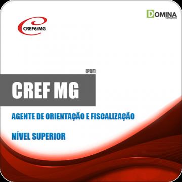 Apostila CREF 6 MG 2019 Agente de Orientação e Fiscalização