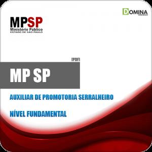 Apostila MP SP 2019 Auxiliar de Promotoria Serralheiro