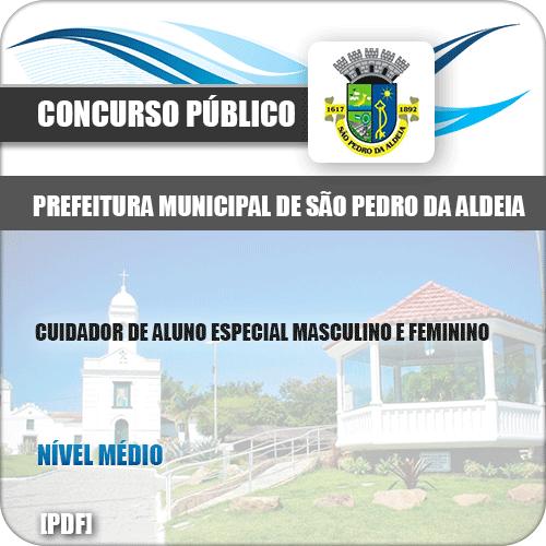 Apostila Pref São Pedro Aldeia RJ 2019 Cuidador Aluno Especial