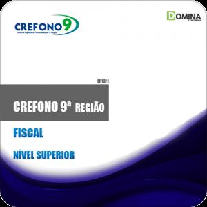 Apostila Concurso CREFONO 9ª Região 2019 Fiscal