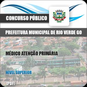 Apostila Pref Rio Verde GO 2019 Médico Atenção Primária