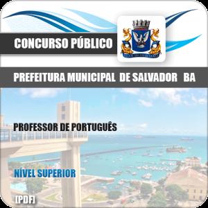 Apostila Prefeitura Salvador BA 2019 Professor de Português