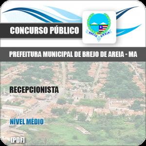 Apostila Pref Brejo de Areia MA 2019 Recepcionista