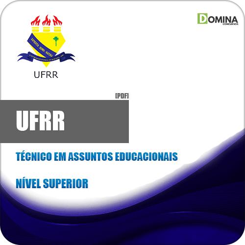 Apostila UFRR 2019 Técnico em Assuntos Educacionais