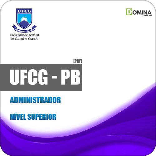 Apostila Concurso UFCG PB 2019 Administrador