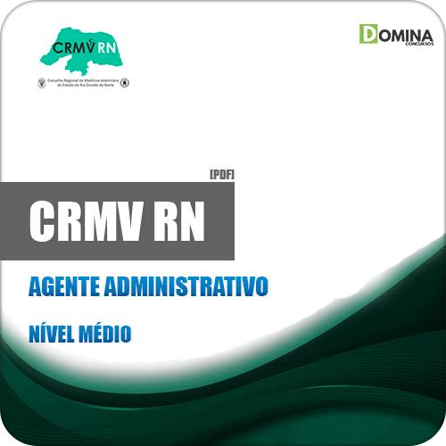 Apostila Concurso CRMV RN 2019 Agente Administrativo