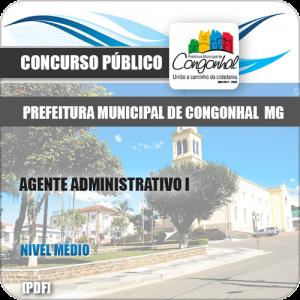 Apostila Pref Congonhal MG 2019 Agt Administrativo I