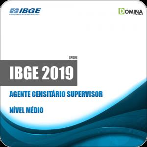 Apostila Concurso IBGE 2019 Agente Censitário Supervisor