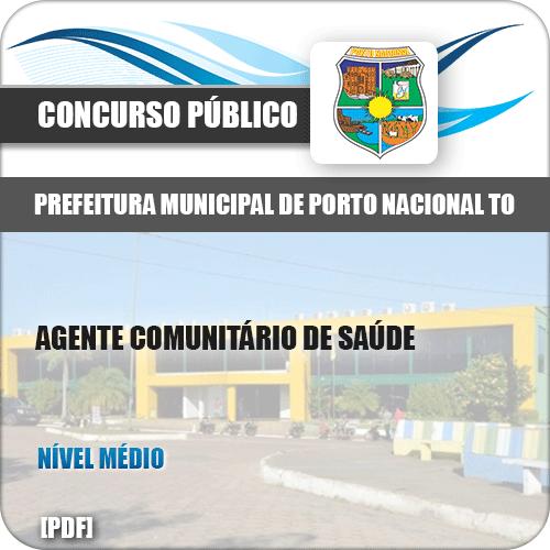 Apostila Pref Porto Nacional TO 2019 Agt Comunitário Saúde
