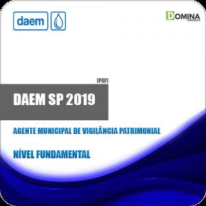 Apostila DAEM Marília SP 2019 Agt Municipal Vigilância Patrimonial