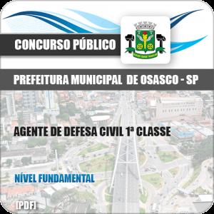 Apostila Pref Osasco SP 2019 Agente de Defesa Civil 1ª Classe