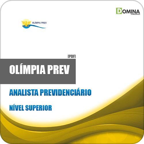 Apostila Olímpia Prev SP 2019 Analista Previdenciário