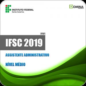 Apostila Concurso IFSC 2019 Assistente Administrativo