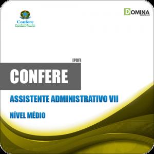 Apostila CONFERE RJ 2019 Assistente Administrativo VII