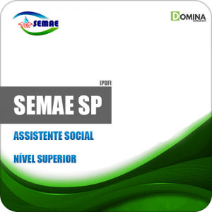Apostila SEMAE de Piracicaba SP 2019 Assistente Social