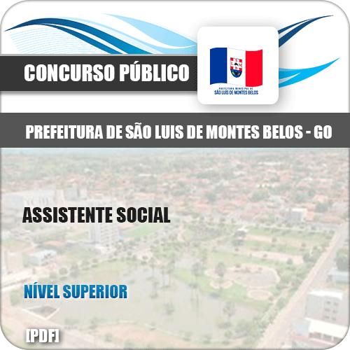 Apostila São Luis Montes Belos GO 2019 Assistente Social