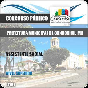 Apostila Concurso Pref Congonhal MG 2019 Assistente Social