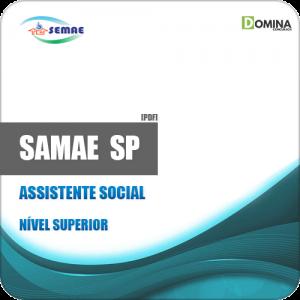 Apostila SEMAE Piracicaba SP 2019 Assistente Social