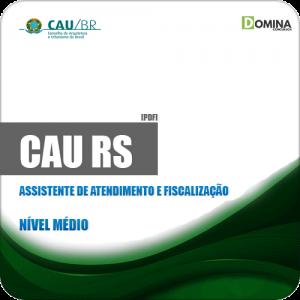 Apostila CAU RS 2019 Assistente de Atendimento e Fiscalização