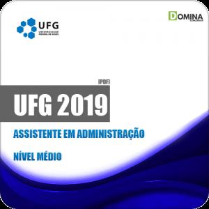 Apostila Concurso Público UFG 2019 Assistente em Administração
