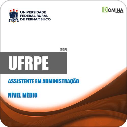 Apostila Concurso UFRPE 2019 Assistente em Administração