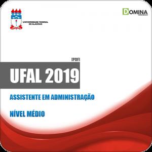 Apostila Concurso UFAL 2019 Assistente em Administração